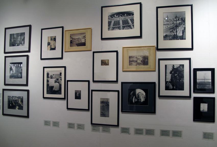 Fotografie aan de muur