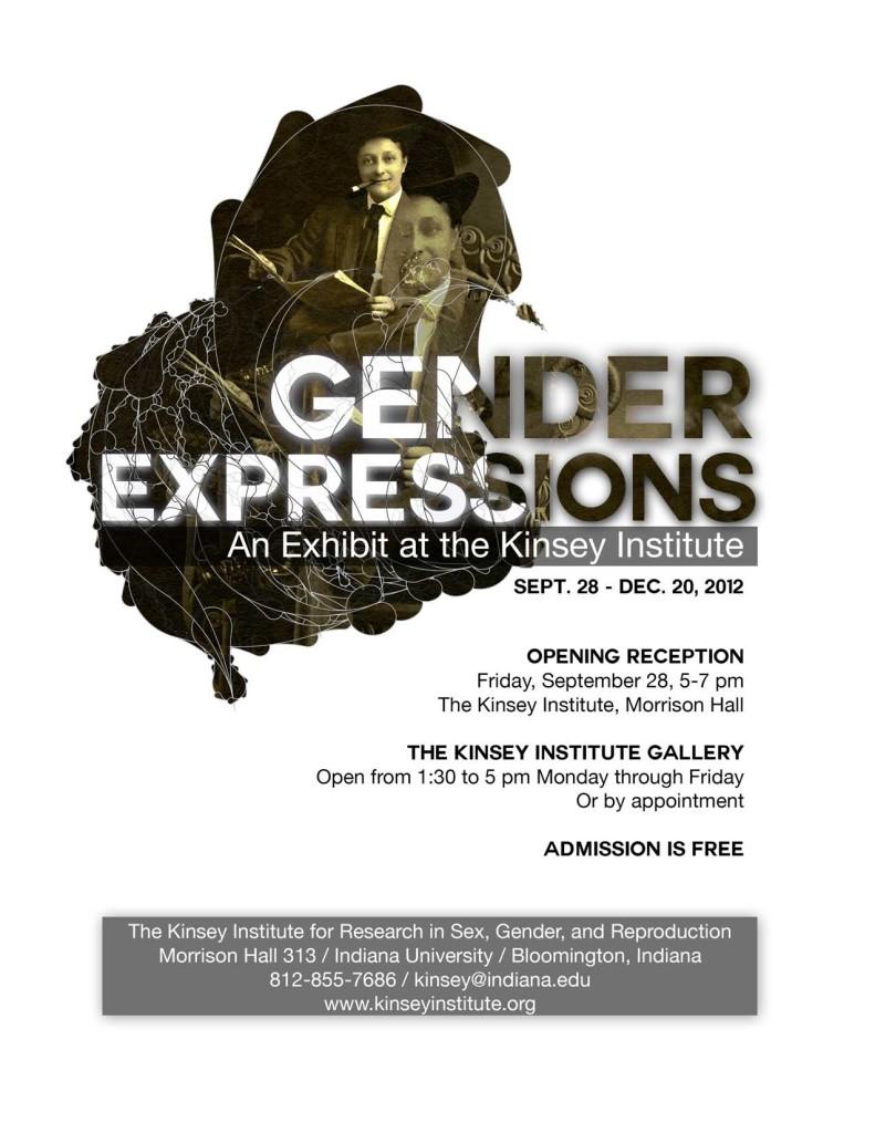 Gender Expressions Poster