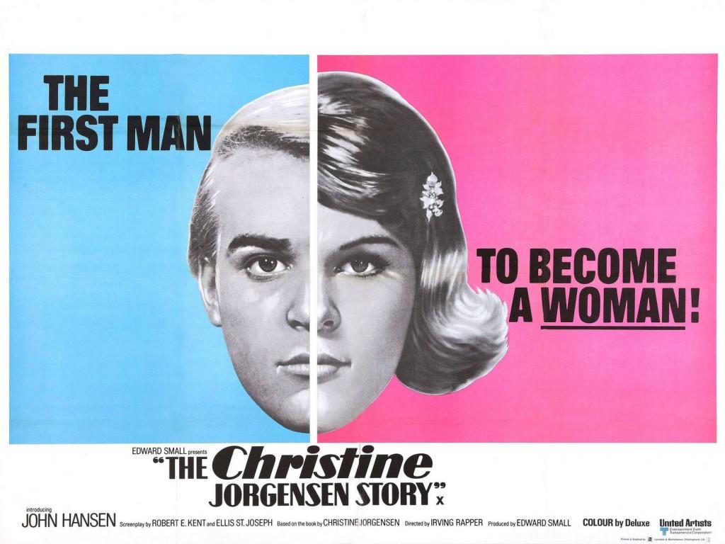 Poster Christine Jorgensen Story